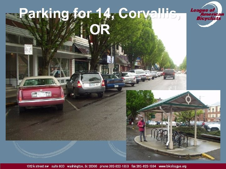 Parking for 14, Corvallis, OR