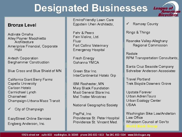 Designated Businesses Bronze Level Activate Omaha Alley Poyner Macchietto Architecture Ameriprise Financial, Corporate Hqts