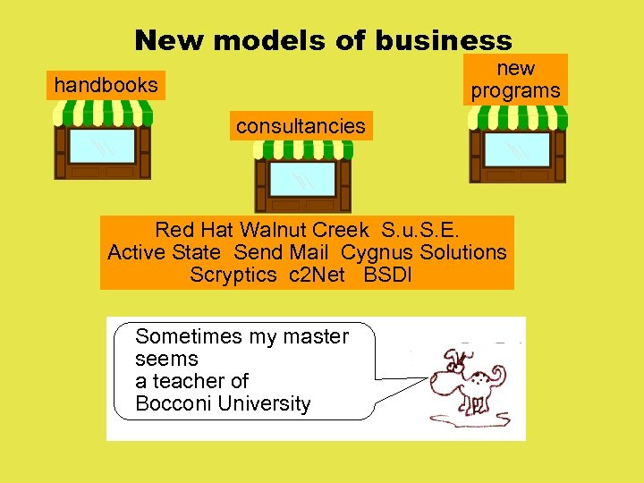 New models of business new programs handbooks consultancies Red Hat Walnut Creek S. u.