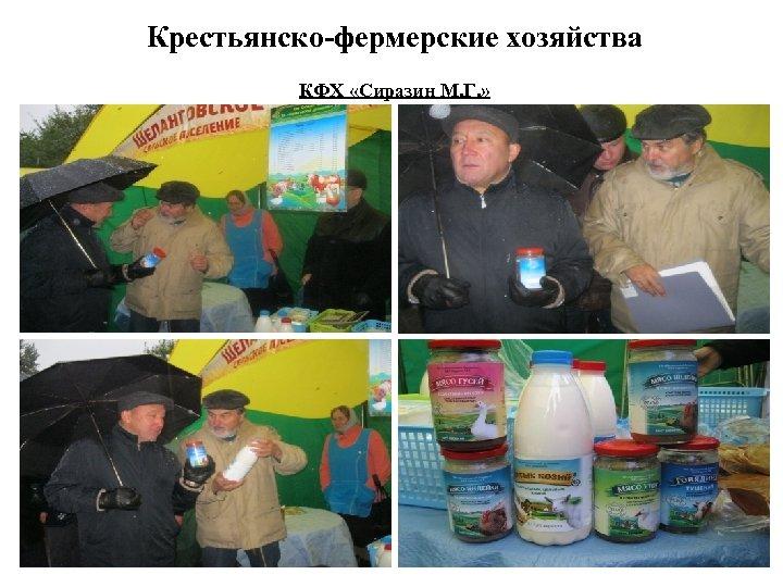 Крестьянско-фермерские хозяйства КФХ «Сиразин М. Г. »