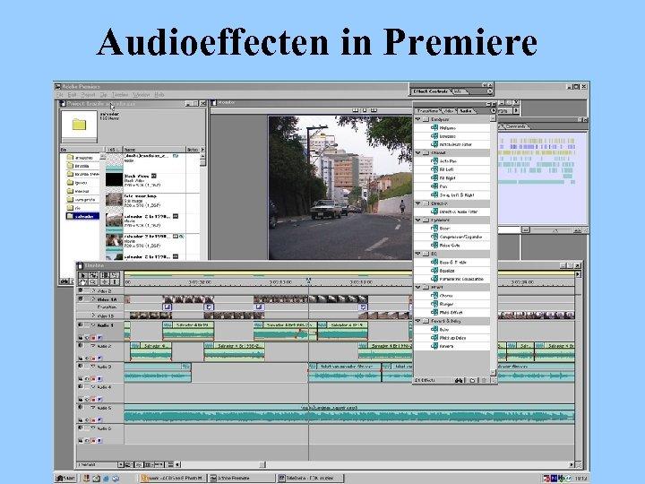 Audioeffecten in Premiere