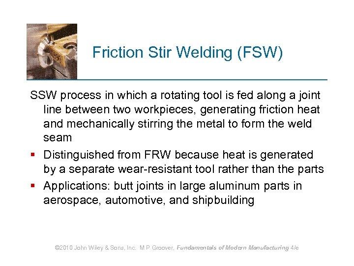 Welding Processes 1 2 3 4 5 6