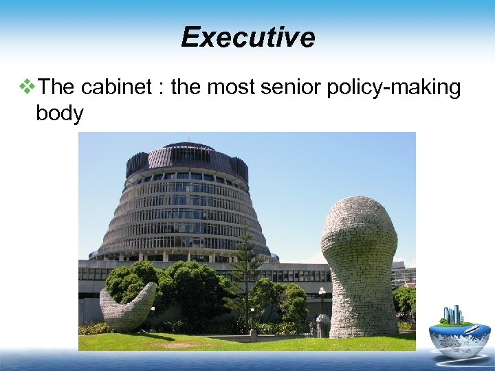 Executive v. The cabinet : the most senior policy-making body