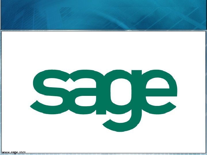 27 www. sage. com