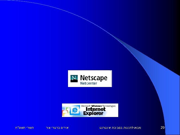 92 מבוא לתכנות בסביבת אינטרנט איריס ברגורי צור תשרי תשס