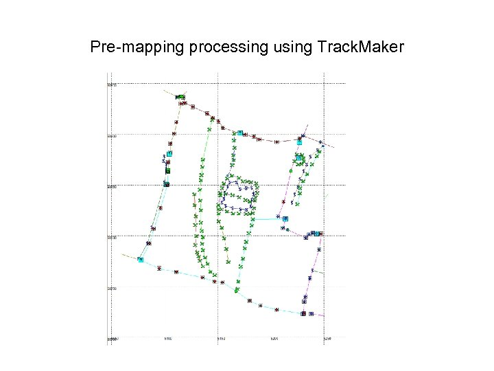 Pre-mapping processing using Track. Maker