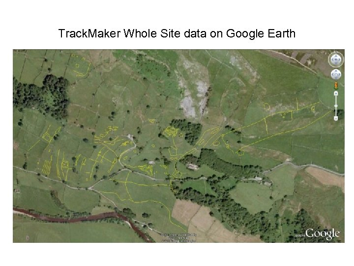 Track. Maker Whole Site data on Google Earth
