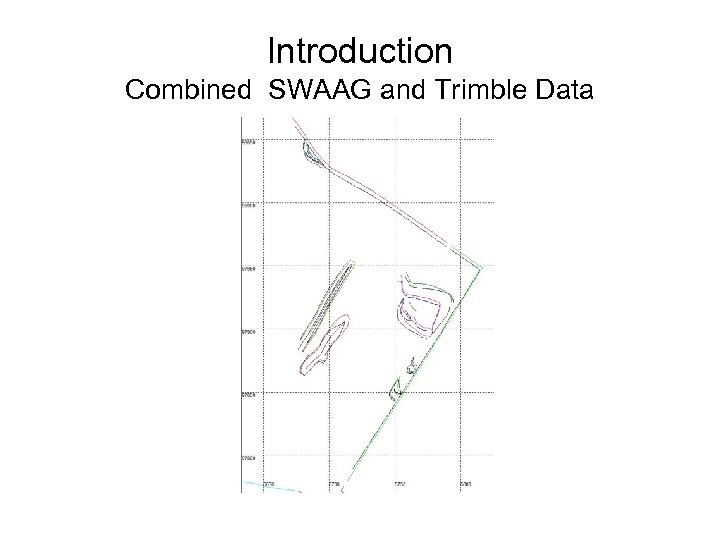 Introduction Combined SWAAG and Trimble Data