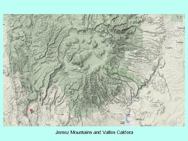 Jemez Mountains and Valles Caldera