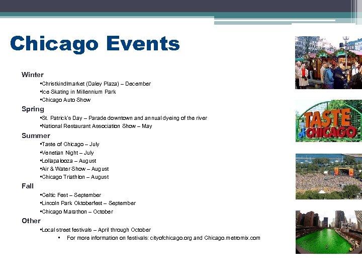 Chicago Events Winter • Christkindlmarket (Daley Plaza) – December • Ice Skating in Millennium