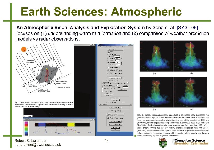 Earth Sciences: Atmospheric An Atmospheric Visual Analysis and Exploration System by Song et al.