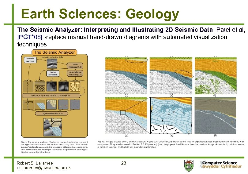 Earth Sciences: Geology The Seismic Analyzer: Interpreting and Illustrating 2 D Seismic Data, Patel