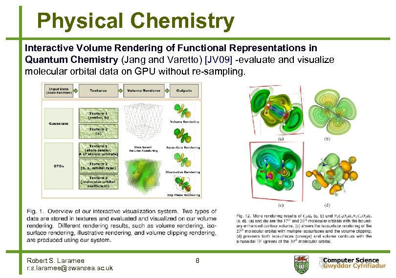 Physical Chemistry Interactive Volume Rendering of Functional Representations in Quantum Chemistry (Jang and Varetto)
