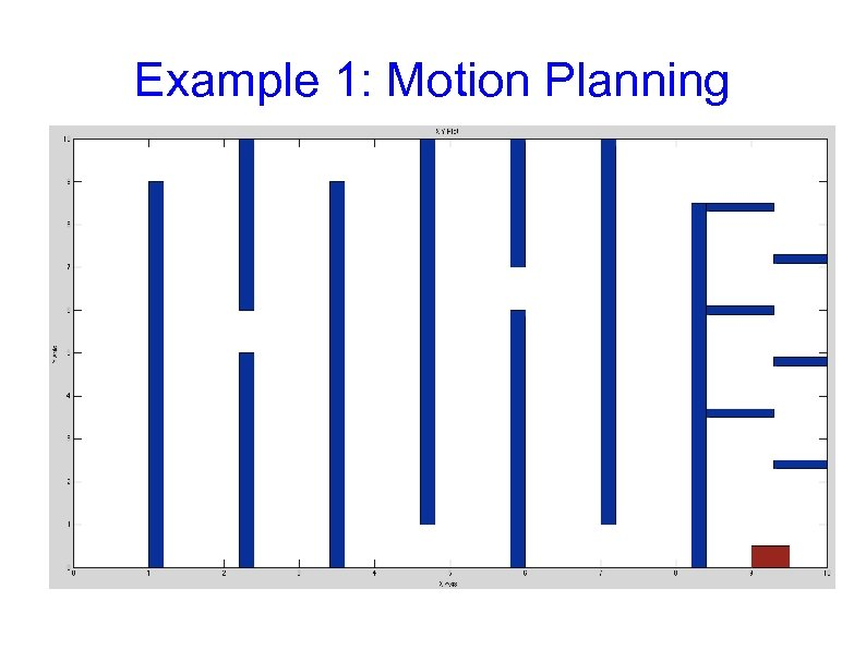 Example 1: Motion Planning