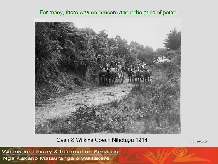 For many, there was no concern about the price of petrol Gash & Wilkins