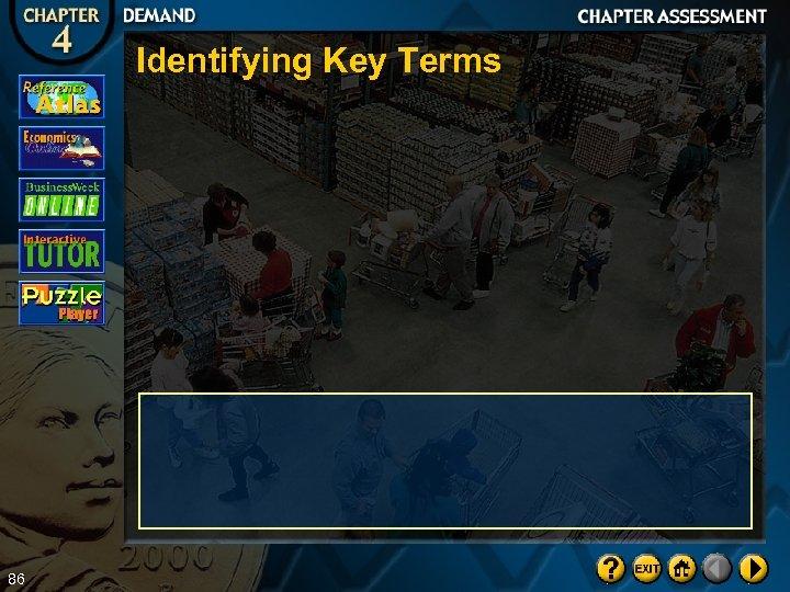 Identifying Key Terms 86