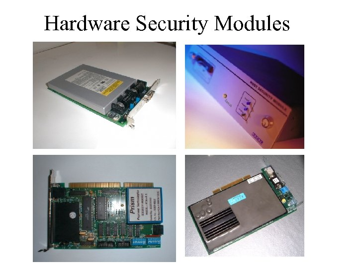 Hardware Security Modules