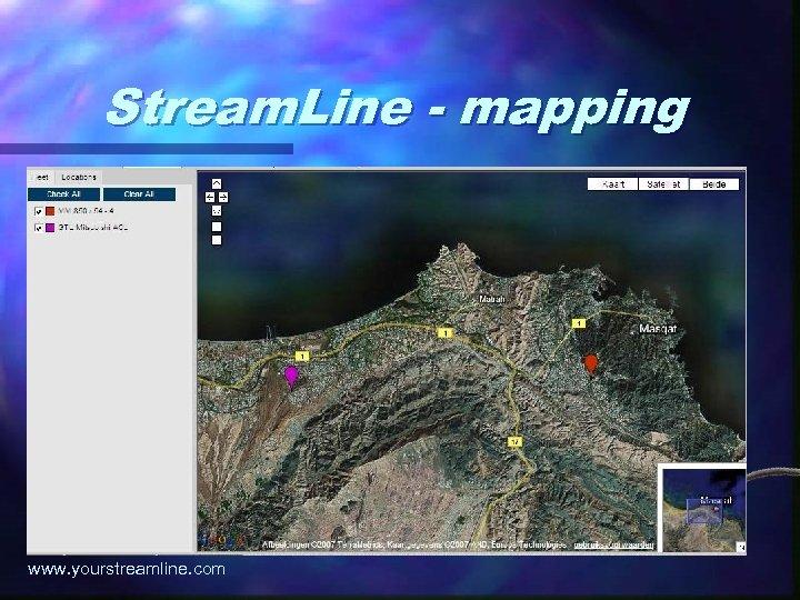 Stream. Line - mapping www. yourstreamline. com