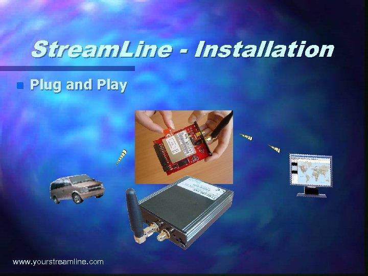 Stream. Line - Installation n Plug and Play www. yourstreamline. com