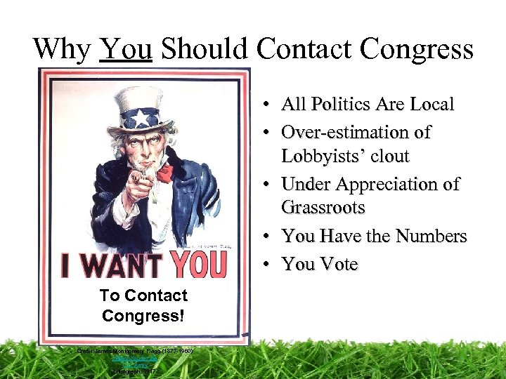 Why You Should Contact Congress • All Politics Are Local • Over-estimation of Lobbyists'
