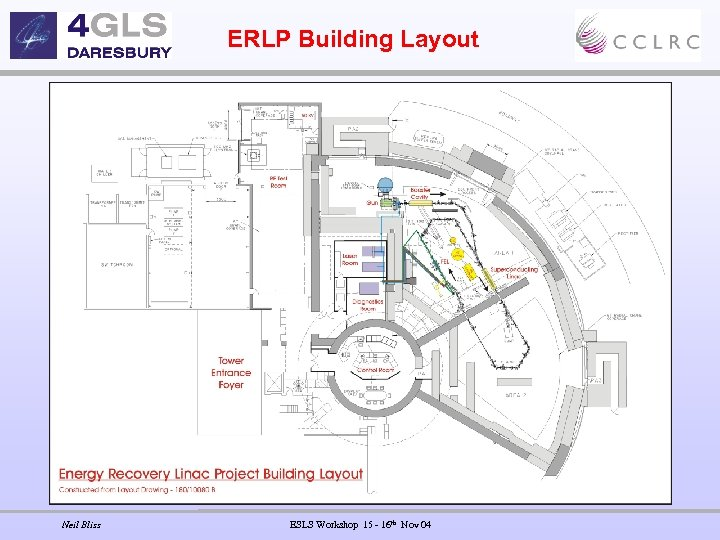 ERLP Building Layout Neil Bliss ESLS Workshop 15 - 16 th Nov 04