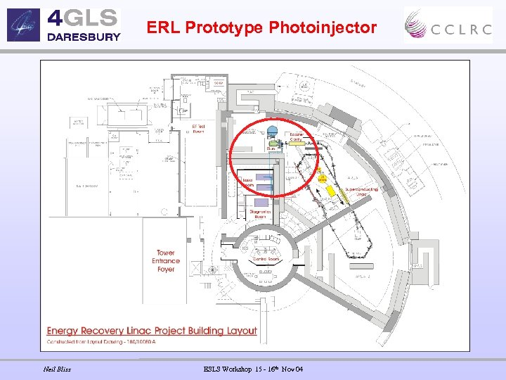 ERL Prototype Photoinjector Neil Bliss ESLS Workshop 15 - 16 th Nov 04
