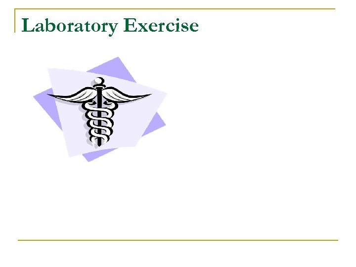 Laboratory Exercise