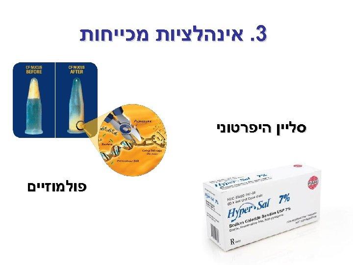 3. אינהלציות מכייחות סליין היפרטוני פולמוזיים