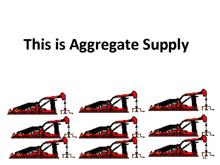 This is Aggregate Supply 40