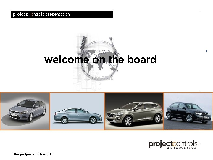 project controls presentation 1 welcome on the board June 2006 © copyright projectcontrols s.
