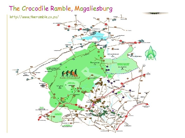 The Crocodile Ramble, Magaliesburg http: //www. theramble. co. za/