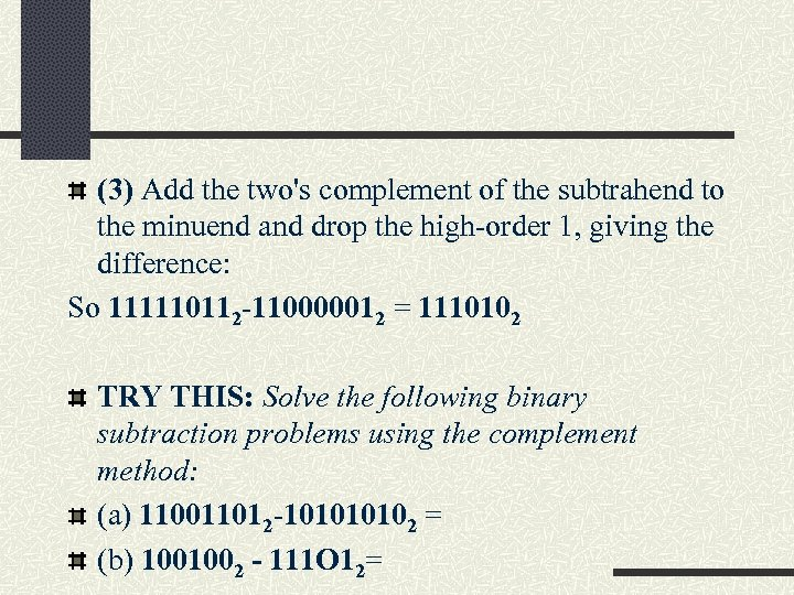 NUMBER SYSTEMS Number Systems Concepts The study