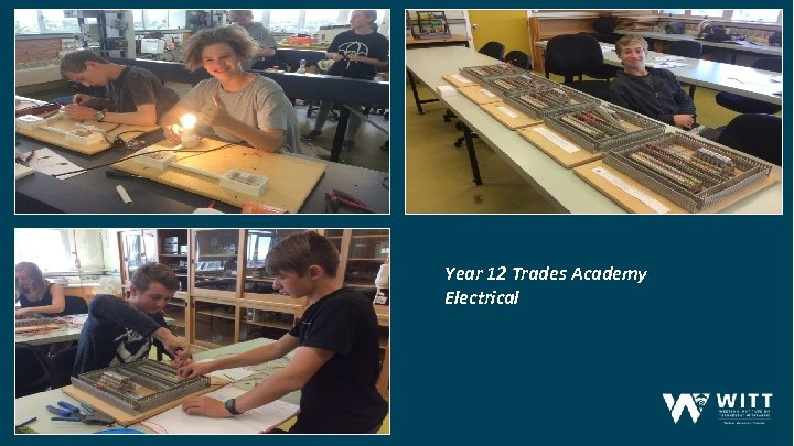 Year 12 Trades Academy Electrical