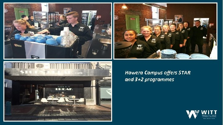 Hawera Campus offers STAR and 3+2 programmes