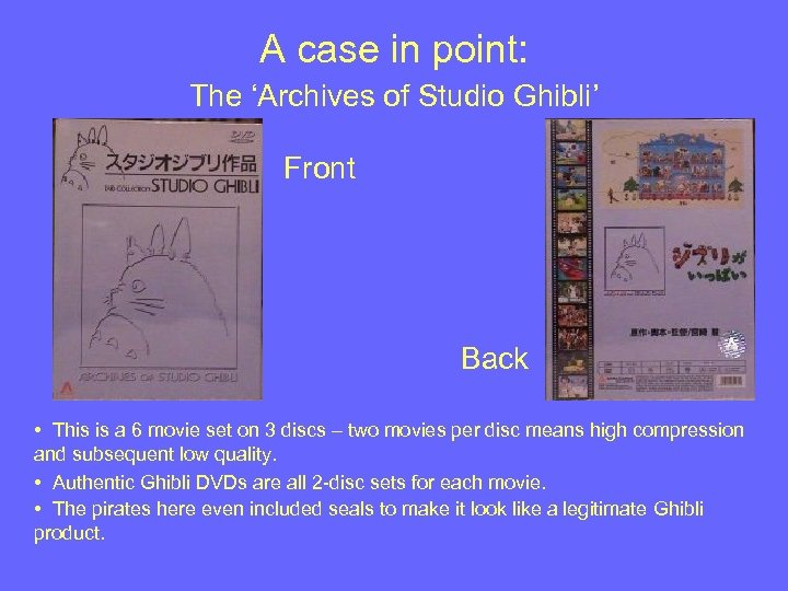 A case in point: The 'Archives of Studio Ghibli' Front Back • This is