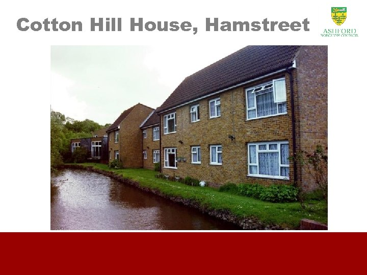 Cotton Hill House, Hamstreet