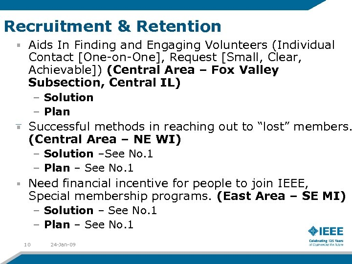 Recruitment & Retention Aids In Finding and Engaging Volunteers (Individual Contact [One-on-One], Request [Small,