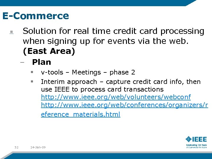 E-Commerce Solution for real time credit card processing when signing up for events via