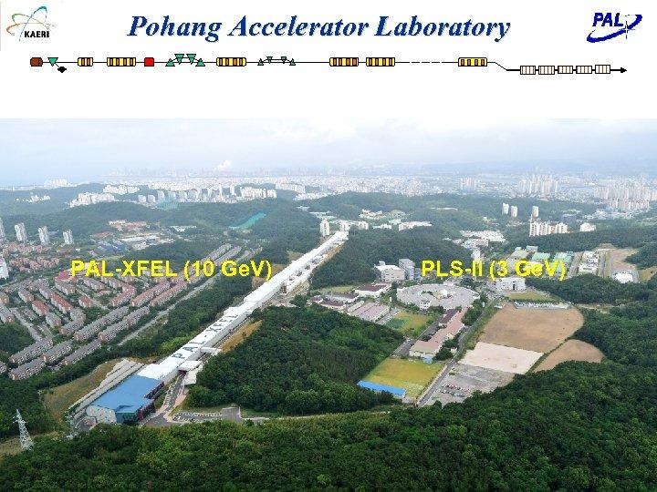 Pohang Accelerator Laboratory PAL-XFEL (10 Ge. V) KOMAC-PAL Introduction for SATIF 14 -2018 PLS-II