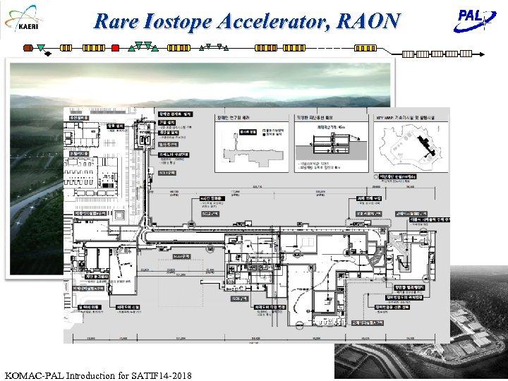 Rare Iostope Accelerator, RAON KOMAC-PAL Introduction for SATIF 14 -2018