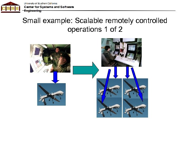 Small example: Scalable remotely controlled operations 1 of 2