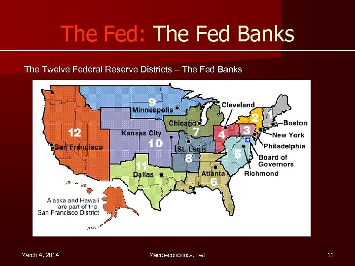 federal reserves 12 district - 720×540