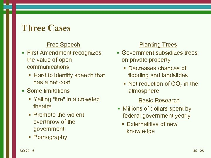 Three Cases Free Speech § First Amendment recognizes the value of open communications §