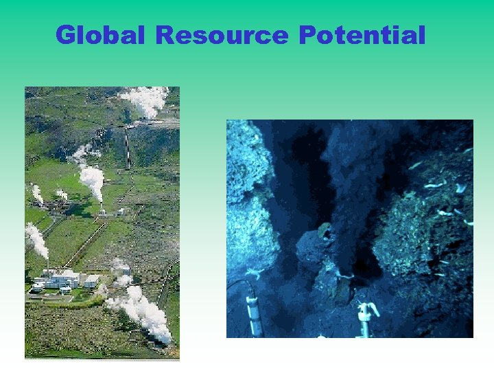 Global Resource Potential
