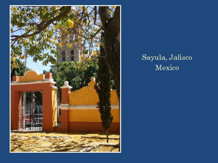 Sayula, Jalisco Mexico