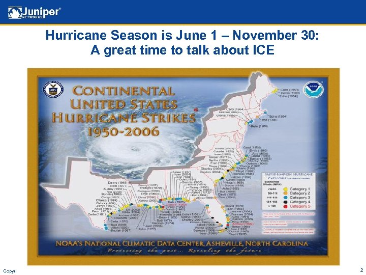 Hurricane Season is June 1 – November 30: A great time to talk about
