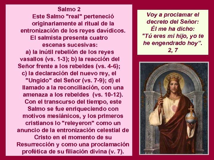 Salmo 2 Este Salmo