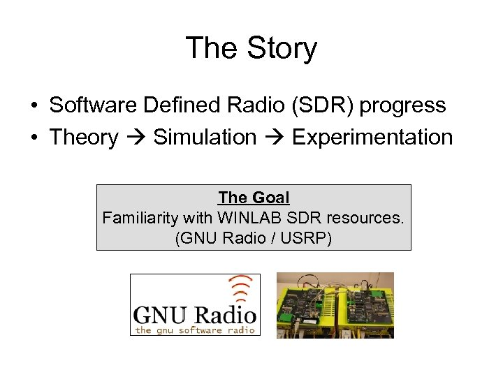 Gnu Radio Simulation