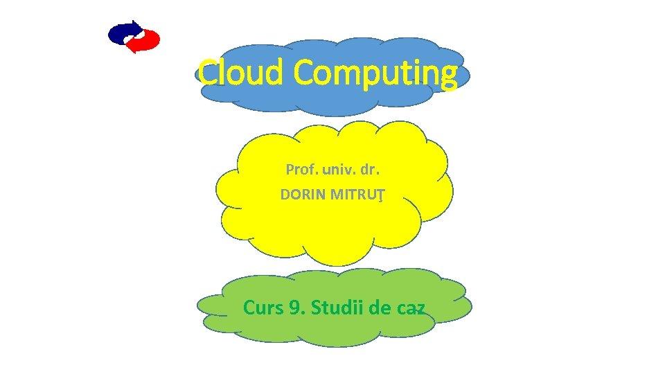 Cloud Computing Prof. univ. dr. DORIN MITRUŢ Curs 9. Studii de caz