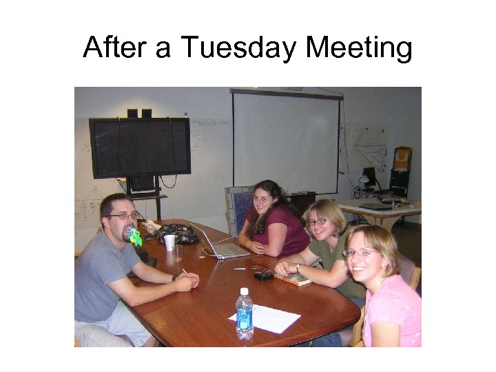After a Tuesday Meeting